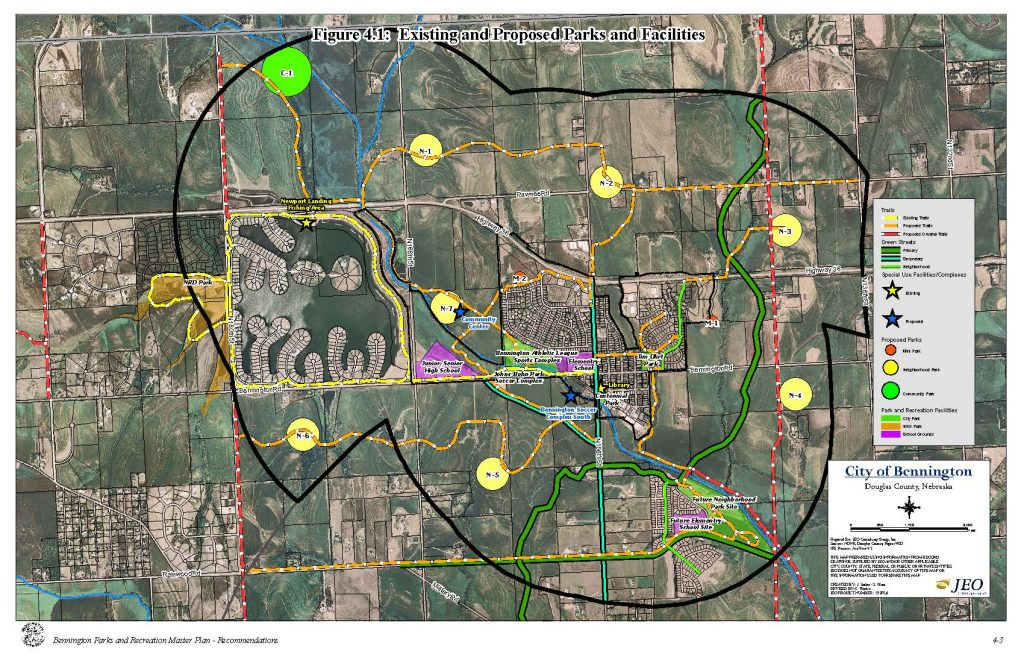 Existing and Proposed Parks and Facilities