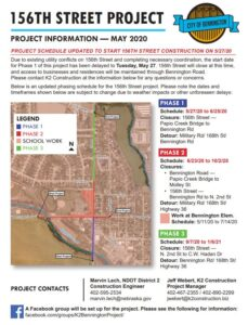 156th Street Project Update